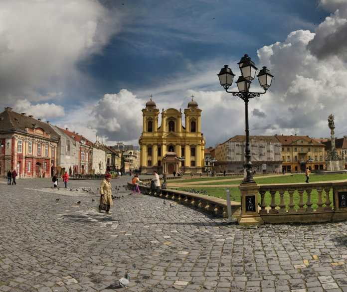 Piața Unirii din Timișoara FOTO: Panoramas/Flickr (creative commons)